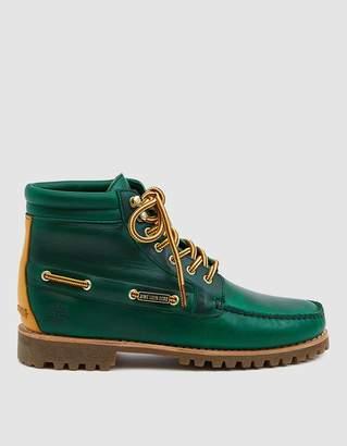 Timberland Aimé Leon Dore 7-Eye Lug Sole Boot in Green