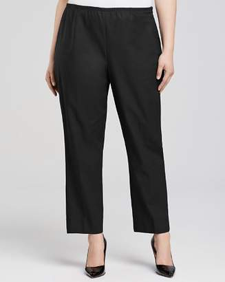 Nic+Zoe Plus Perfect Slit Cuff Straight Pants
