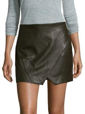 Blank NYC Wrap Mini Skirt