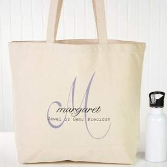 Name Meaning Canvas Tote Bag $22.99 thestylecure.com