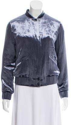Joe's Jeans Velvet Bomber Jacket