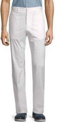 Paul & Shark Flat-Front Woven Trousers