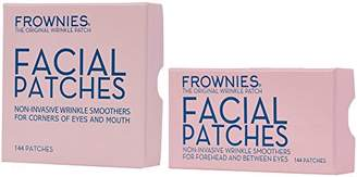 Frownies Bundle-2 Items Forehead & Between Eyes (144 Patches) + Corners Of Eyes And Mouth (144 Patches) Combo Pack