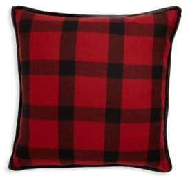 Ralph Lauren Home Plaid-Print Decorative Pillow