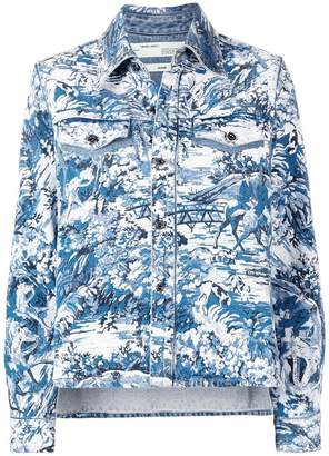 Off-White tapestry shirt