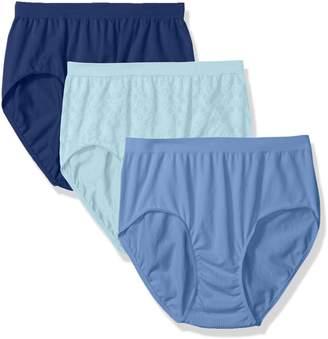 Bali Women's Comfort Revolution Brief Panty 3-Pack