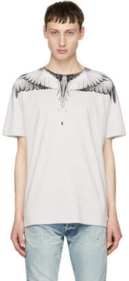 Marcelo Burlon County of Milan Grey Wings T-Shirt