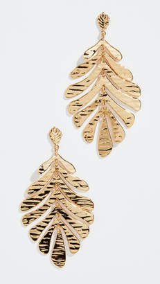Kate Spade A New Leaf Statement Earrings