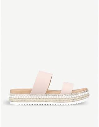 Carvela Kustard embellished nubuck sandals