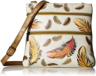 Anuschka ANNA by  Handpainted Leather Compact Travel Organizer