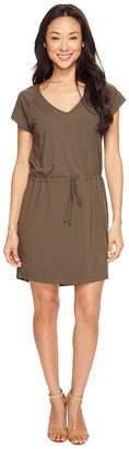 Lilla P Short Sleeve V-Neck Dress Women's Dress