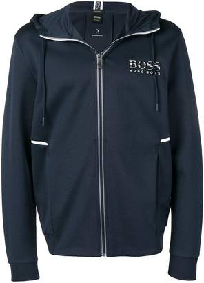 HUGO BOSS zipped hoodie