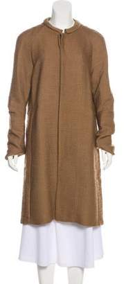 Marni Bouclé Wool-Blend Coat