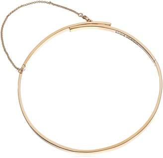 Eddie Borgo Extra Thin Safety Chain Choker Necklace