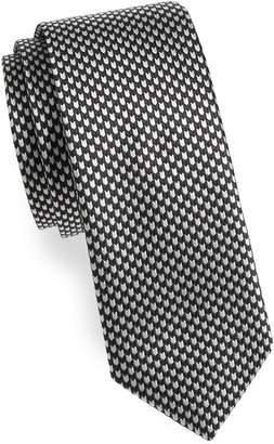 Theory Men's Printed Silk Tie
