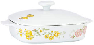 Lenox Butterfly Meadow Square Covered Casserole Dish