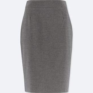Uniqlo Women's Stretch Set Up Skirt (online Exclusive)