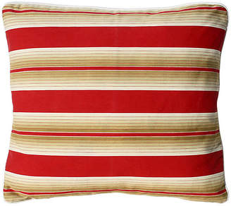 One Kings Lane Vintage French Striped Pillow