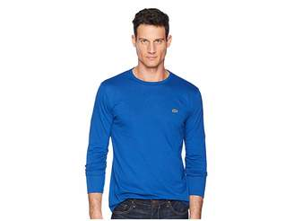 Lacoste Long Sleeve Pima Jersey Crew Neck T-Shirt