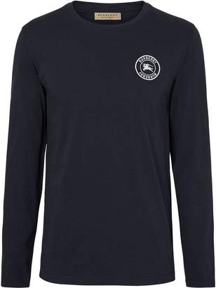 Burberry logo patch T-shirt