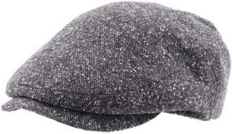 Classic Italy Dalston Flat Cap Size 55 cm Black