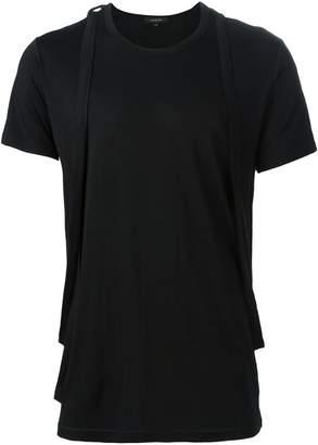 Unconditional cross straps T-shirt