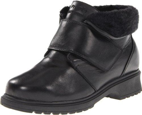 Propet Women's Weather Walker Boot,Black,7.5 W (D) US