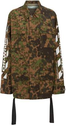 Off-White Off White Camouflage Field Jacket