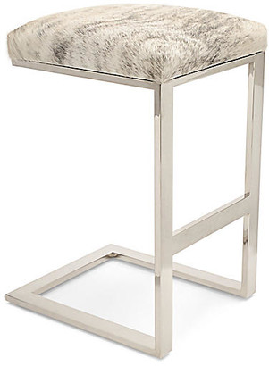 Le-Coterie Le Coterie Hot Toddy Counter Stool - Light Brindle