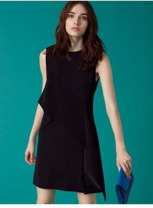 Diane von Furstenberg Ruffle Front Mini Dress