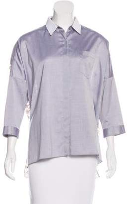 Aquilano Rimondi Aquilano.Rimondi Embroidered Button-Up Top