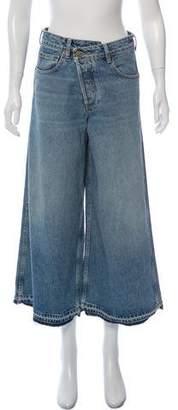 Monse High-Rise Wide-Leg Jeans w/ Tags