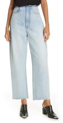Alexander Wang Denim x Split Wide Leg Jeans