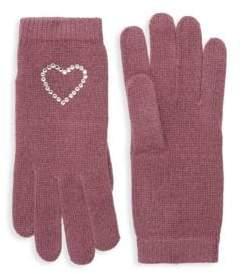 Portolano Crystal-Embellished Gloves
