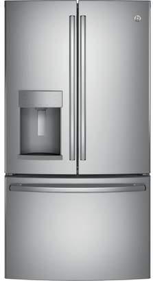GE Appliances 27.8 cu. ft. Energy Star French Door Refrigerator