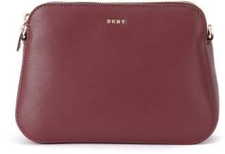 DKNY Bryant Red Leather Pochette