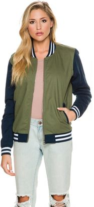 Stussy Uni Varsity Jacket $119.95 thestylecure.com