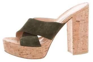Gianvito Rossi Crossover Platform Sandals
