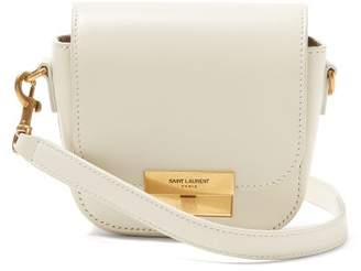 Saint Laurent Betty Mini Leather Satchel - Womens - White
