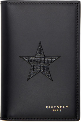 Givenchy Black Bifold Card Holder $475 thestylecure.com