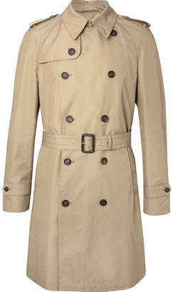 Dunhill Cotton-Blend Gabardine Trench Coat
