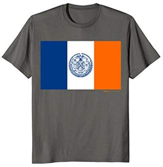 New York City Flag T Shirt for Men