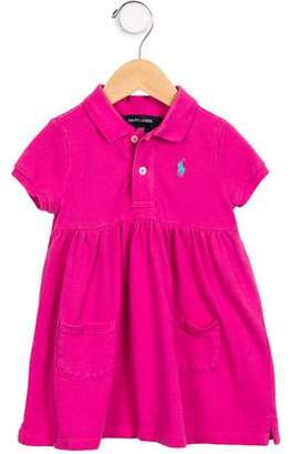 Ralph Lauren Girls' Polo Shirt Dress