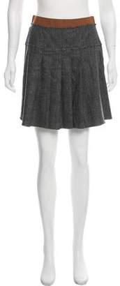 Dolce & Gabbana Plaid Mini Skirt