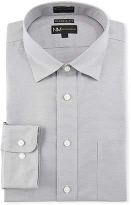 Neiman Marcus Men's Classic-Fit Non-Iron Texture Solid Dress Shirt