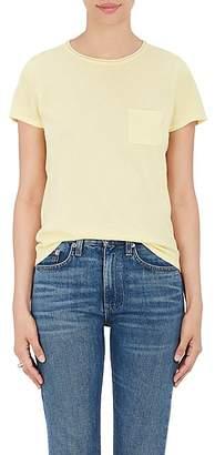 Barneys New York Women's Silk-Cashmere Short-Sleeve Sweater - Yellow