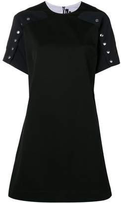 Calvin Klein silver button shift dress