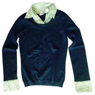 Barneys New York Navy Wool Knitwear for Women