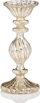 Martha Stewart Collection Glass Antique Silver Candle Holder, Created for Macy's