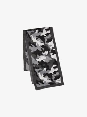Michael Kors Camouflage Scarf